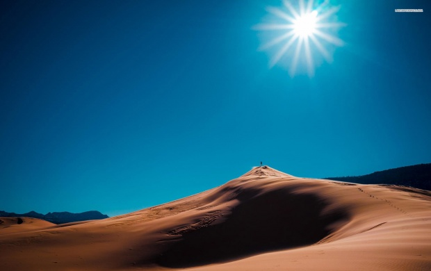 On Top of The Sand Dunes (click to view)