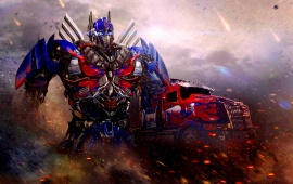 Optimus Prime Transformers Age Of Extinction Movie