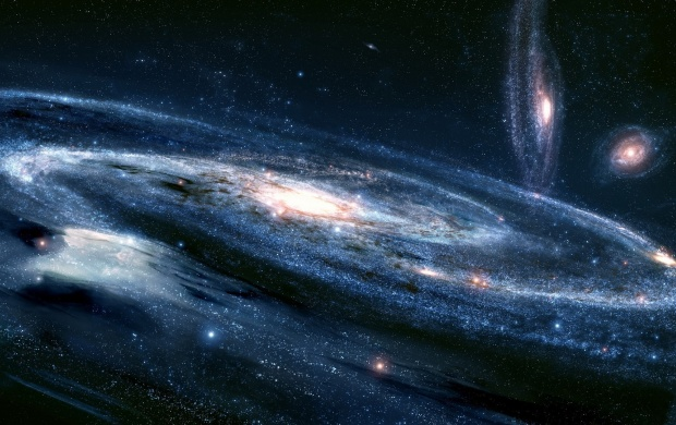 Outer Space Galaxy (click to view)