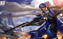 Overwatch Ana Art