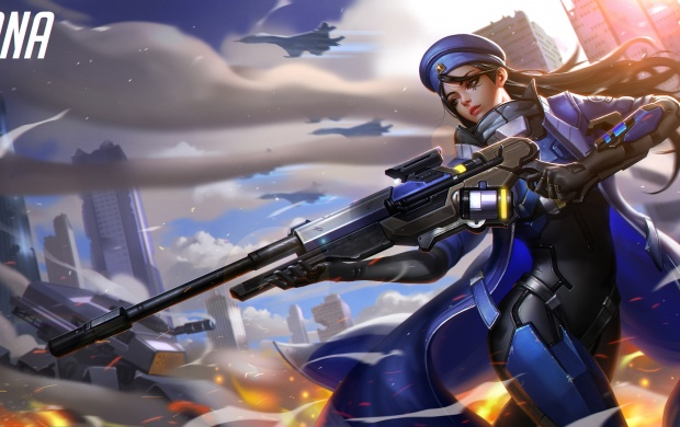 Overwatch Ana Art (click to view)