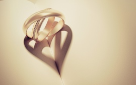 Paper Ring Heart