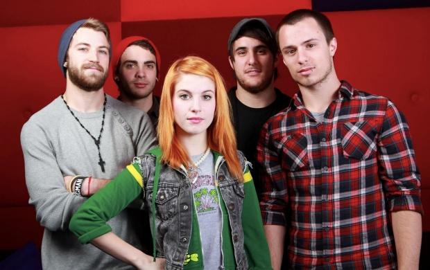 Paramore Band (click to view)