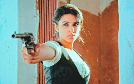 Parineeti Chopra With Gun