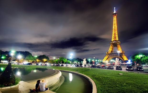 Paris City Night Tower (click to view)