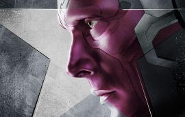 Paul Bettany As Vision Captain America Civil War