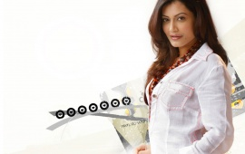 Payal Rohatgi In White Shirt