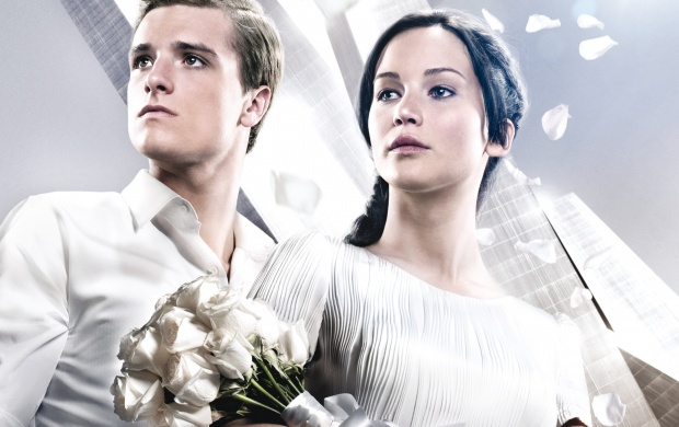 Peeta Katniss The Hunger Games Catching Fire (click to view)