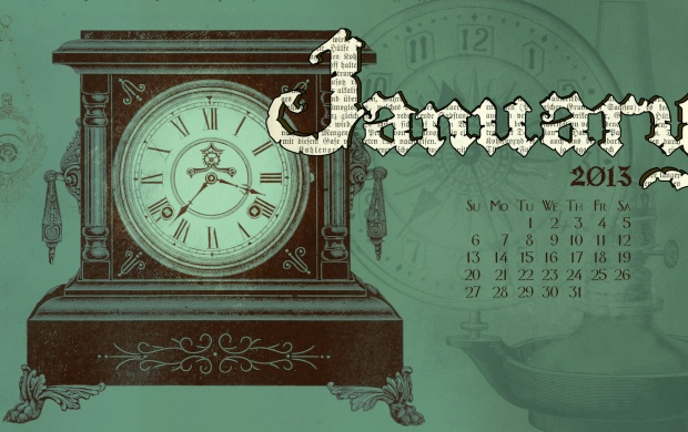 Pendulum Clock Calendar (click to view)