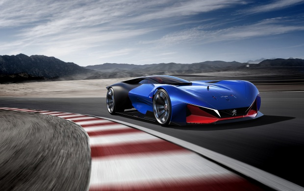 Peugeot L500 R HYbrid Concept 2016 (click to view)