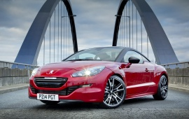 Peugeot RCZ R Sports Coupe UK Version 2014