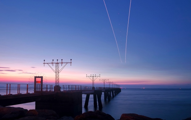 Pier at Dusk (click to view)