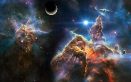 Pillars Of The Carina Nebula
