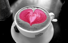 Pink Love Coffee