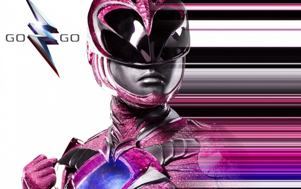 Pink Power Rangers Poster (click to view)