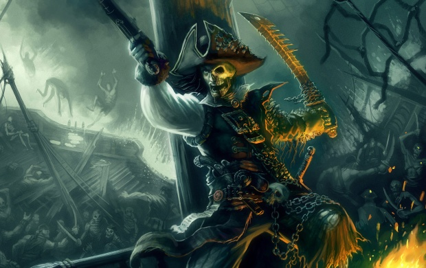 Pirate Artwork (click to view)