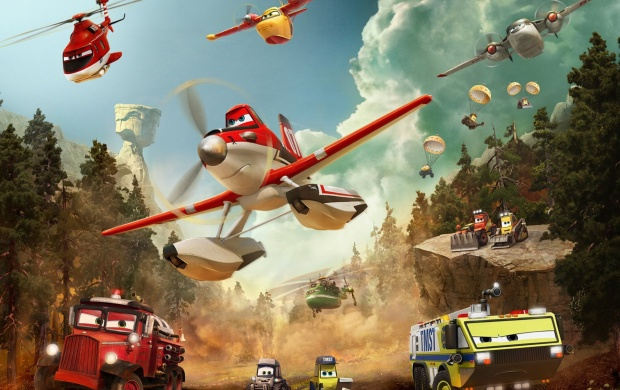 Planes: Fire And Rescue Movie Stills (click to view)
