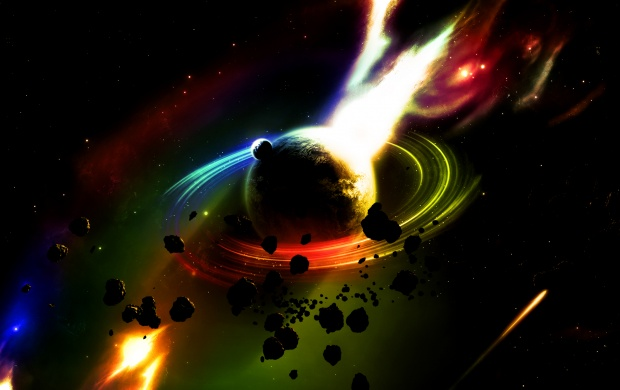 Planet In Fire (click to view)