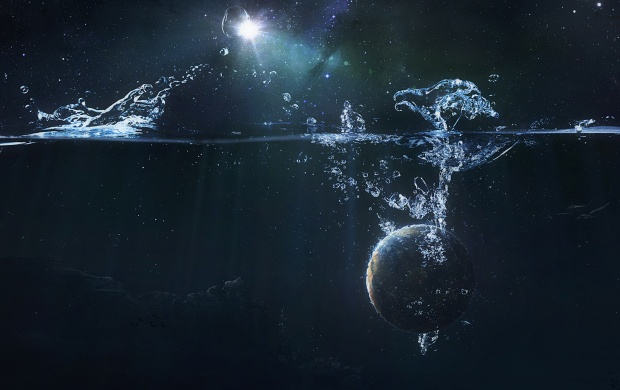 Planet in Water (click to view)