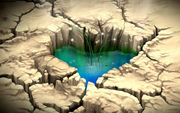 Pond Heart (click to view)