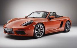 Porsche 718 Boxster S Front Three Quarter 2016