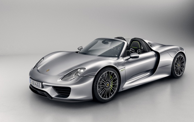 Porsche 918 Spyder 2014 (click to view)