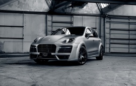 Porsche Cayenne Turbo Car