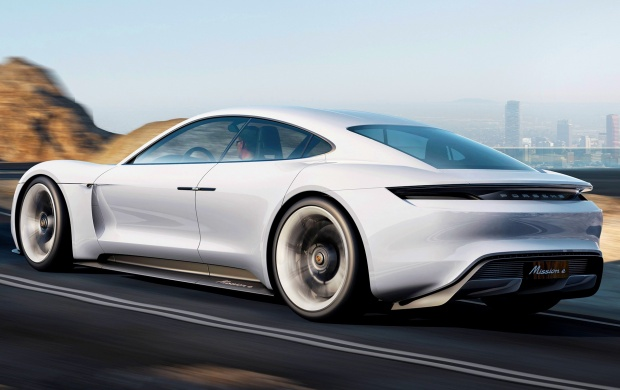 Porsche Mission E Concept Rear (click to view)