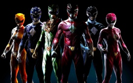 Power Rangers Art