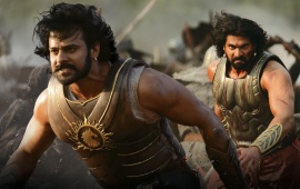 Prabhas And Rana In Baahubali