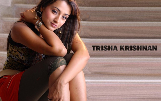 Pretty Trisha Krishnan (click to view)