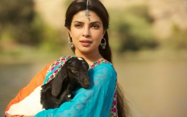 Priyanka Chopra And Black Goat (click to view)