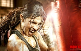 Priyanka Chopra Boxing In Mary Kom Movie