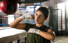 Priyanka Chopra In Mary Kom Movie Stills