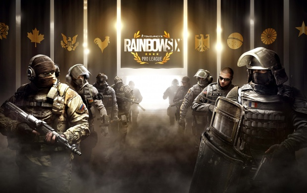 Pro League Tom Clancy's Rainbow Six Siege (click to view)
