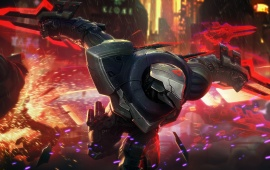 Project Zed Skin Splash Art League Of Legends