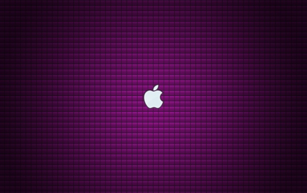 Purple Cubes In Apple (click to view)