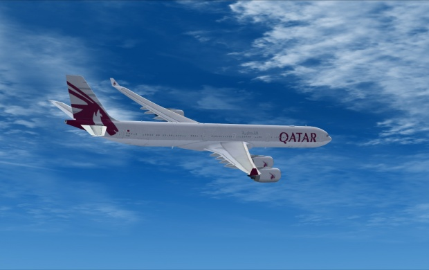 Qatar Airways Airbus (click to view)
