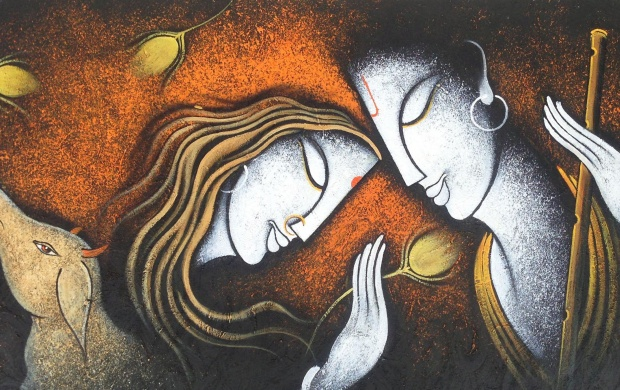 Radha Krishna Painting (click to view)