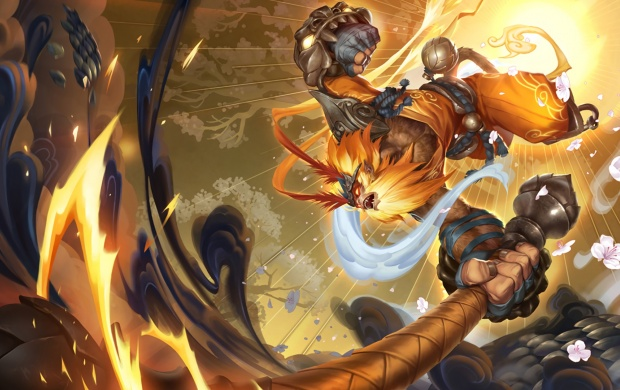Radiant Wukong Art League Of Legends (click to view)