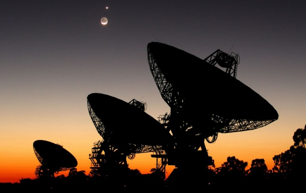 Radio Telescope (click to view)