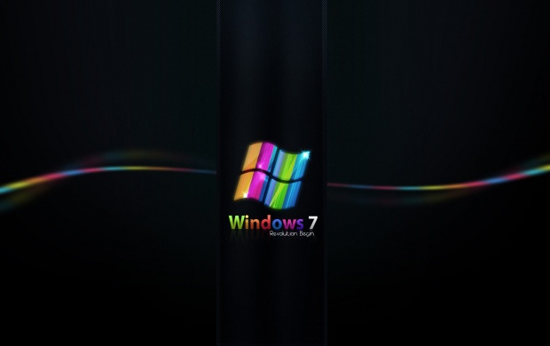 Rainbow Colored Windows 7 (click to view)