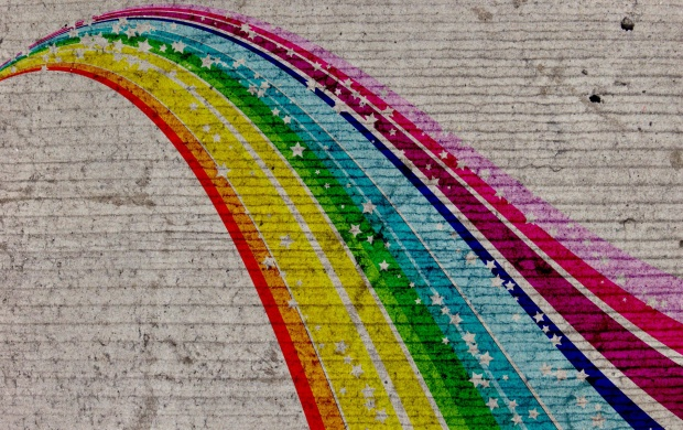 Rainbow Graffiti (click to view)