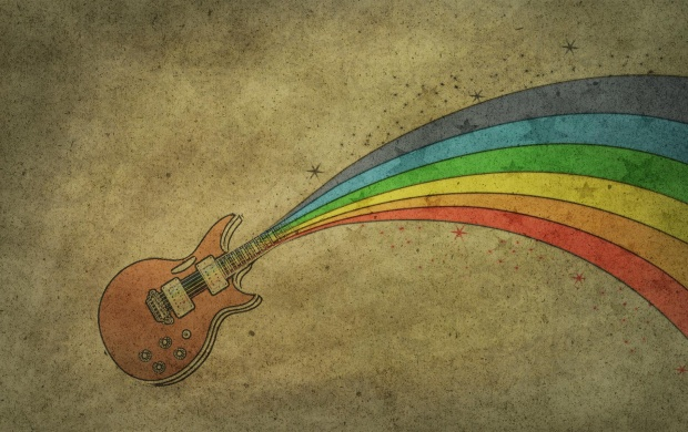Rainbow Guitar (click to view)
