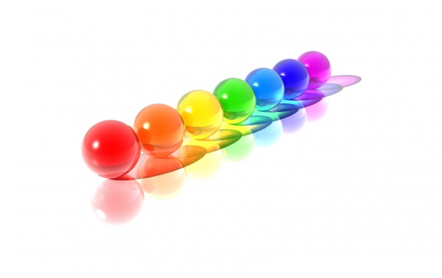 Rainbow Spheres (click to view)