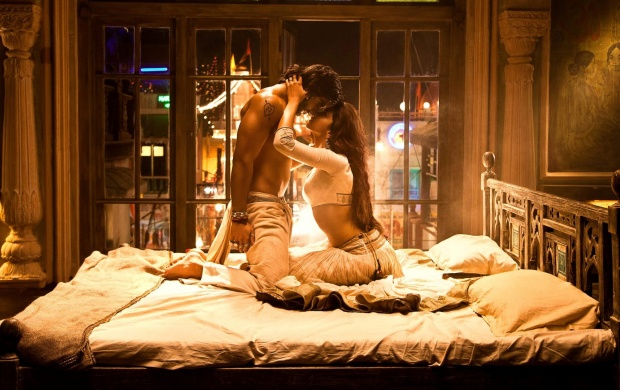 Ram-Leela Movie Romance Scene (click to view)
