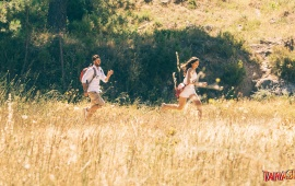 Ranbir And Deepika Run Tamasha
