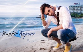 Ranbir Kapoor At Beach