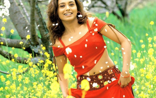 Rani Mukherjee In Red Hiar (click to view)