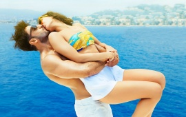 Ranveer And Vaani Kiss In French Waters Befikre